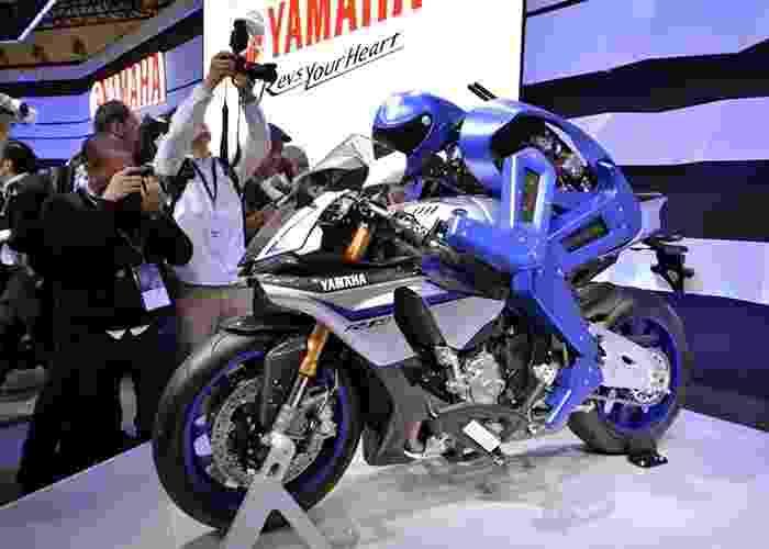 Yamaha Motobot Concept - Yoshikazu Tsuno/AFP