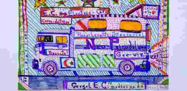 """""""Transmigração"""" traz desenhos, pinturas e colagens - Divulgação - Divulgação"""