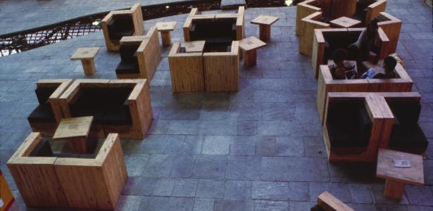 Móveis do Sesc Pompeia - Ze Reynaldo