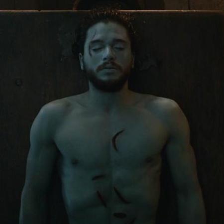 """Jon Snow (Kit Harington) em cena da sexta temporada de """"Game of Thrones"""" - Reprodução/HBO"""