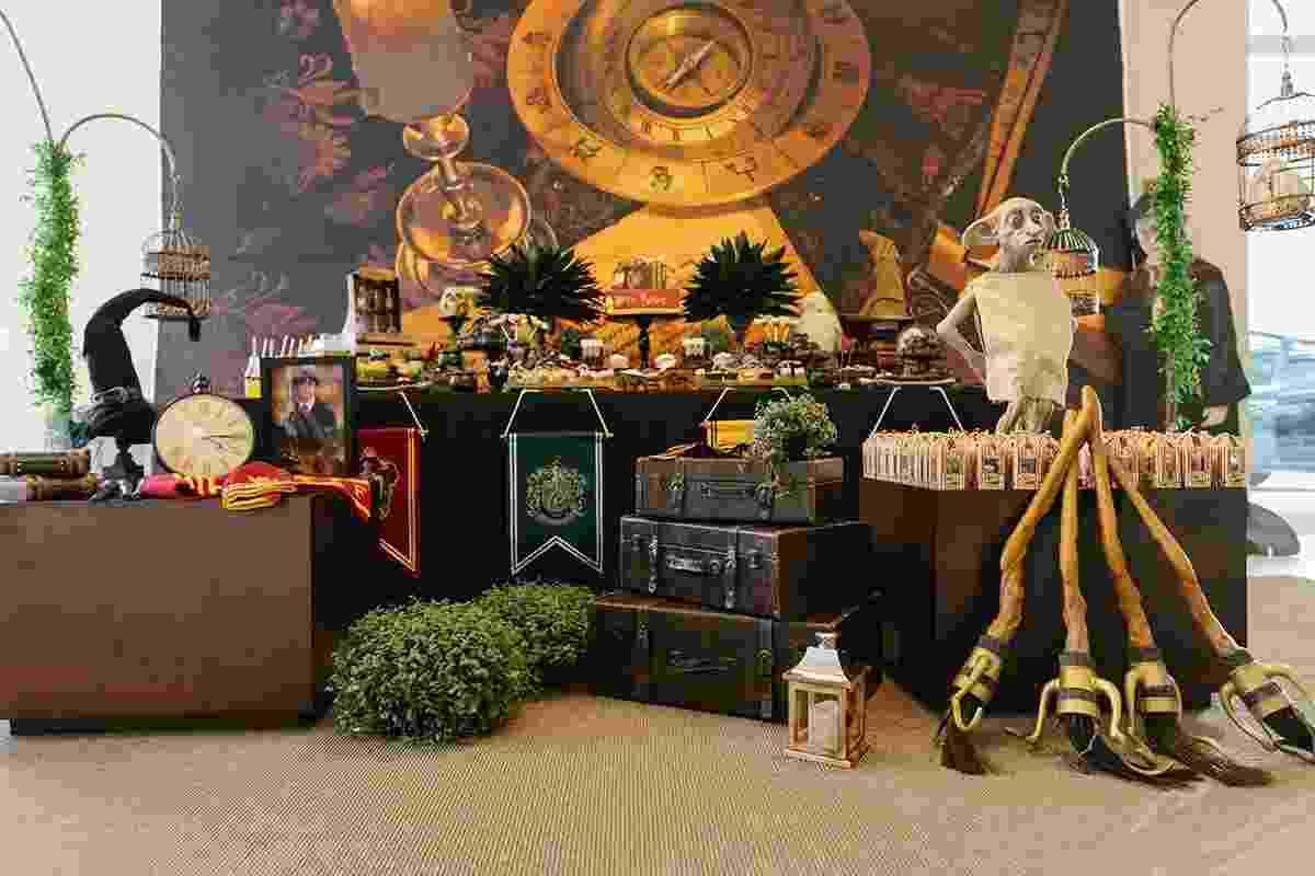 Festa inspirada em Harry Potter- mesa principal - Nina Bedacchi Photography/Divulgação