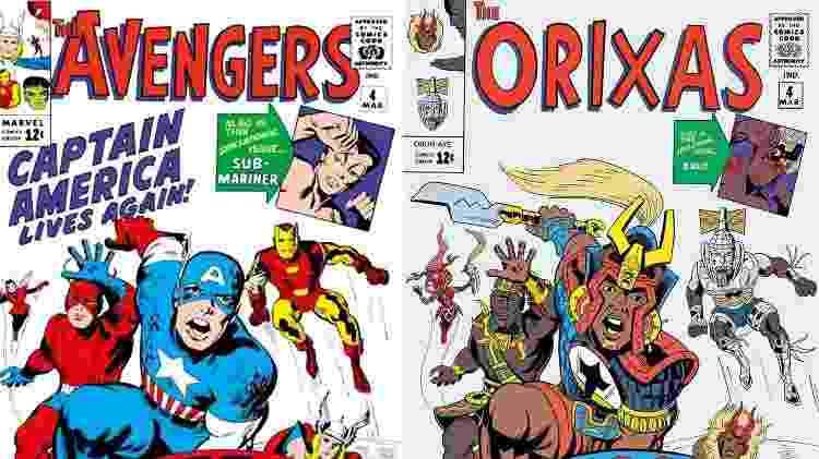 Os Vingadores da mitologia de matriz africana: Hugo Canuto bebe na fonte dos Orixás para nova HQ - Divulgação