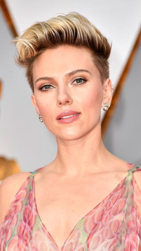Scarlett Johansson durante a premiação do Oscar 2017 - Getty Images