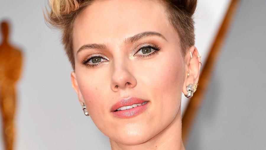 Scarlett Johansson durante a premiação do Oscar 2017 - Getty Images