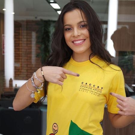 Emilly Araújo será a noiva caipira do Arraiá Solidário da Casa de Apoio à Criança com Câncer Santa Teresa - Divulgação