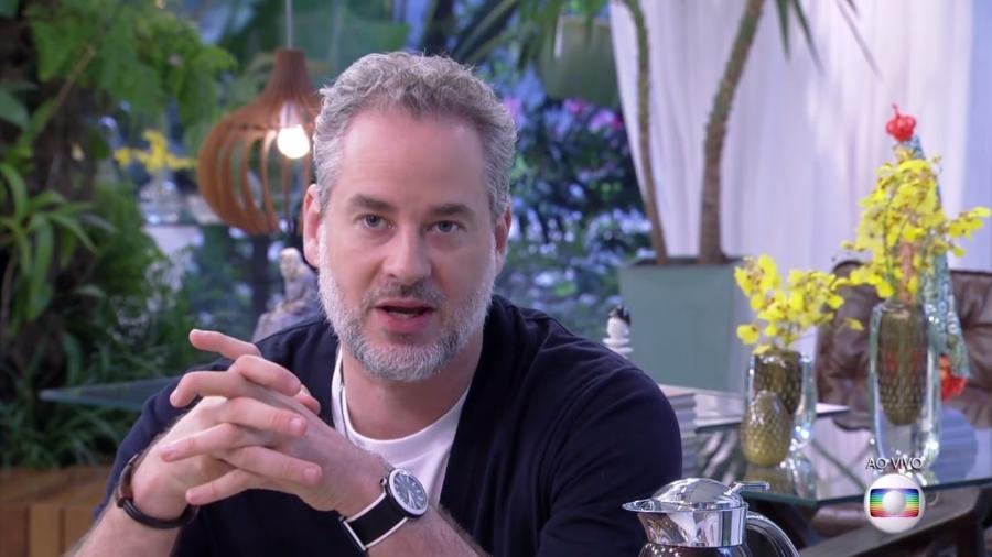 """Dan Stulbach faz desabafo no """"Mais Você"""" sobre corrupção no Brasil - Reprodução/TV Globo"""