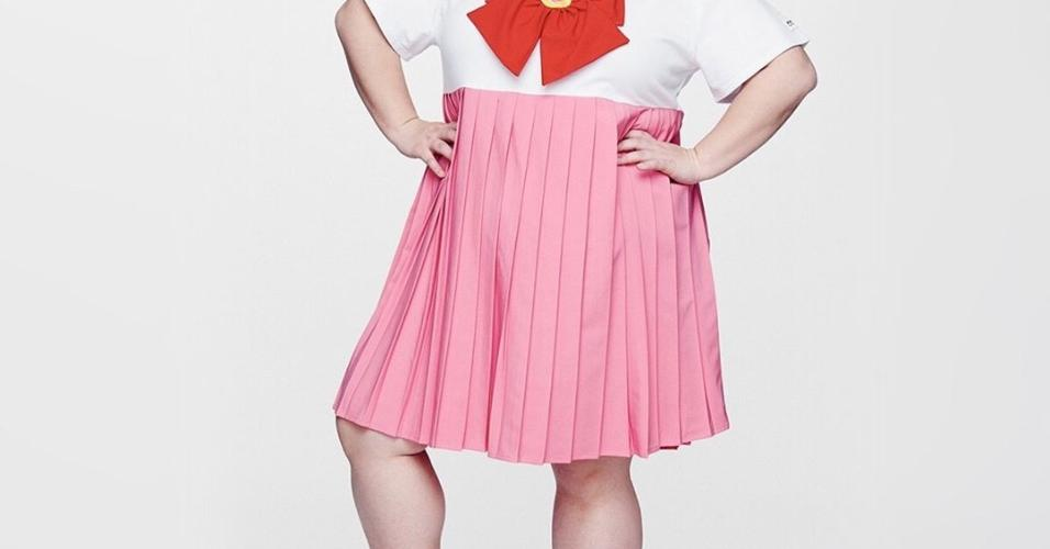 Vestido clássico do anime/mangá