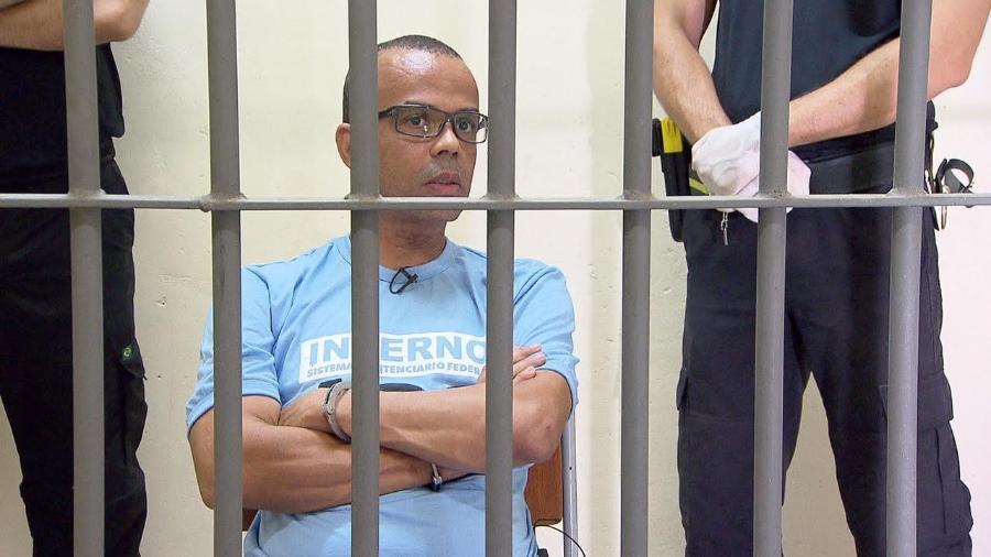 Traficante Fernandinho Beira-Mar reclamou das condições carcerárias em entrevista à Record - Divulgação/Record