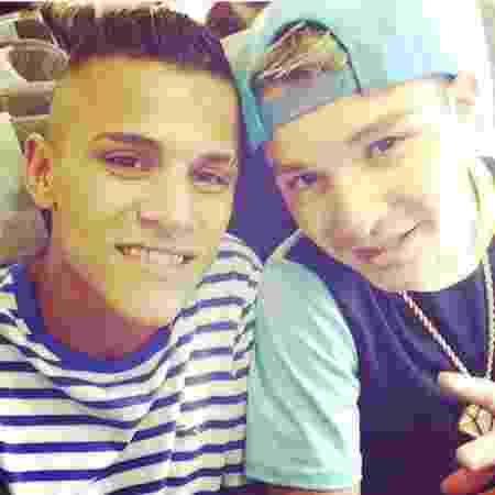 MC Gui posta foto ao lado do irmão, Gustavo, morto em abril de 2014 - Reprodução/Instagram
