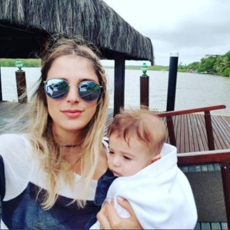 Rafa Brites com o filho, Rocco - Reprodução/Instagram/rafabrites