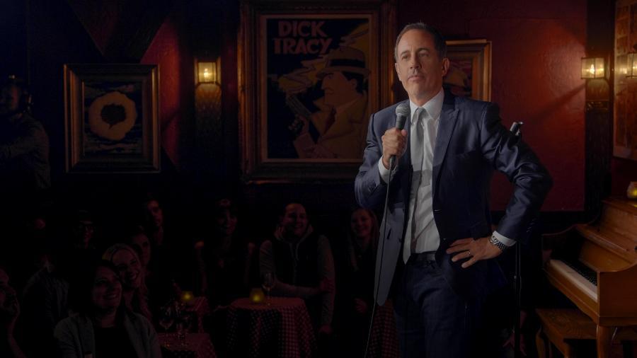 """Jerry Seinfeld em cena do especial """"Jerry Before Seinfeld"""" - Divulgação/Netflix"""