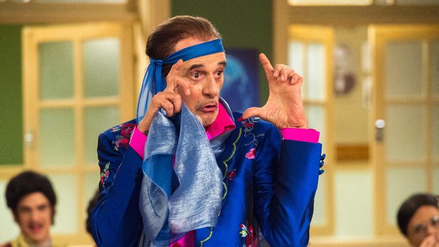 Marcos Caruso como Seu Peru - Estevam Avellar/TV Globo