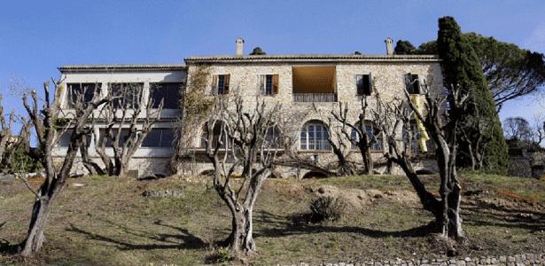 A mansão de Pablo Picasso na França