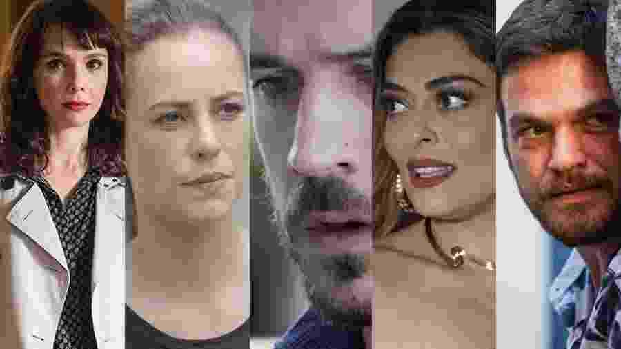"""Irene, Jeiza, Zeca, Bibi e Rubinho: Como serão os finais dos personagens em """"A Força do Querer""""? - Montagem UOL"""