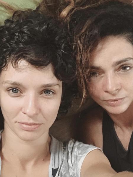 Claudia Ohana e a filha, Dandara Guerra - Reprodução/Instagram