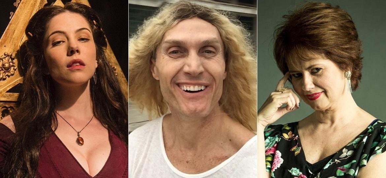 Bia Arantes, André Segatti e Narjara Turetta estão de volta à Globo - Montagem/UOL