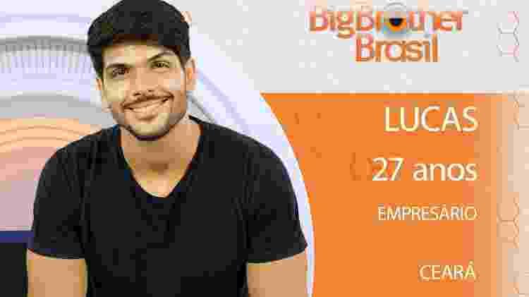 Lucas do BBB18 - Divulgação/TV Globo - Divulgação/TV Globo