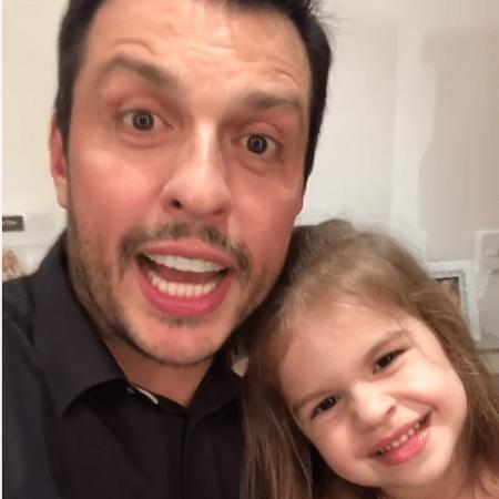 Ceará com a filha, Valentina - Reprodução/Instagram