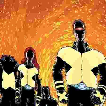 Uniforme dos Novos X-Men nos quadrinhos - Reprodução - Reprodução