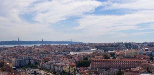 Vista de Lisboa, capital de Portugal, que tem lucrado com o turismo