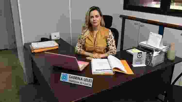 Delegada Sabrina Leles, da Delegacia Estadual de Repressão aos Crimes Cibernéticos (DERCC) de Goiás, é responsável pelas investigações sobre os grupos de Facebook - Divulgação - Divulgação