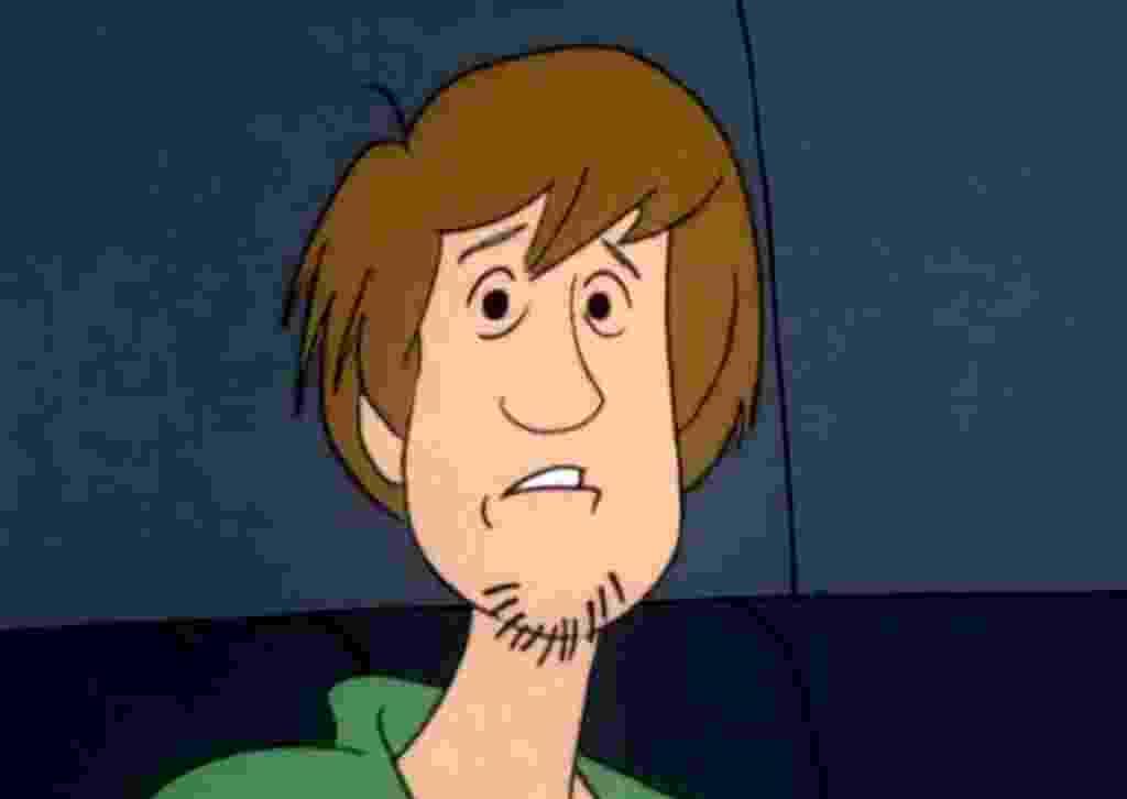 """Personagem Salsicha da série animada """"Scooby-Doo"""" - Reprodução"""