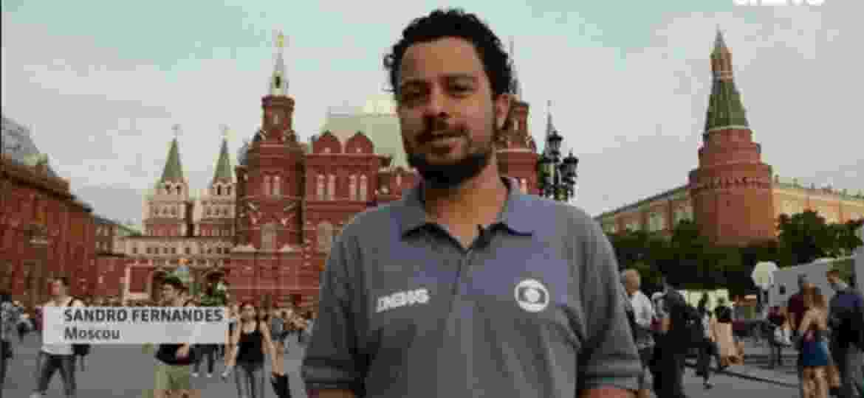 Repórter da Globo faz desabafo após assumir namoro com belga na TV - Reprodução/Globo News
