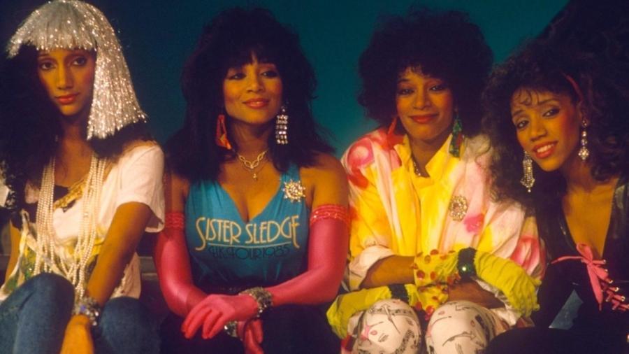 Kim, Debbie, Joni e Kathy Sledge, integrantes do Sister Sledge - Divulgação