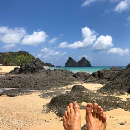 Rafael Vitti publica foto dos pés no Instagram - Reprodução/Instagram/rafaavitti