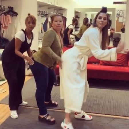 Deborah Secco imita Anitta - Reprodução/Instagram