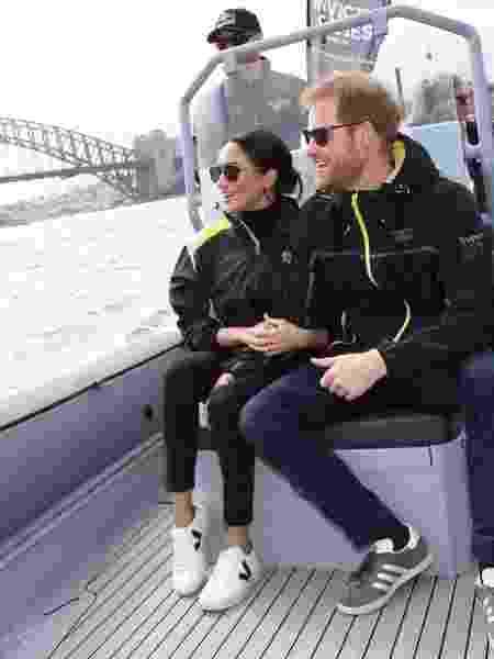 Meghan e Harry barco - Reprodução/Instagram/kensingtonroyal - Reprodução/Instagram/kensingtonroyal