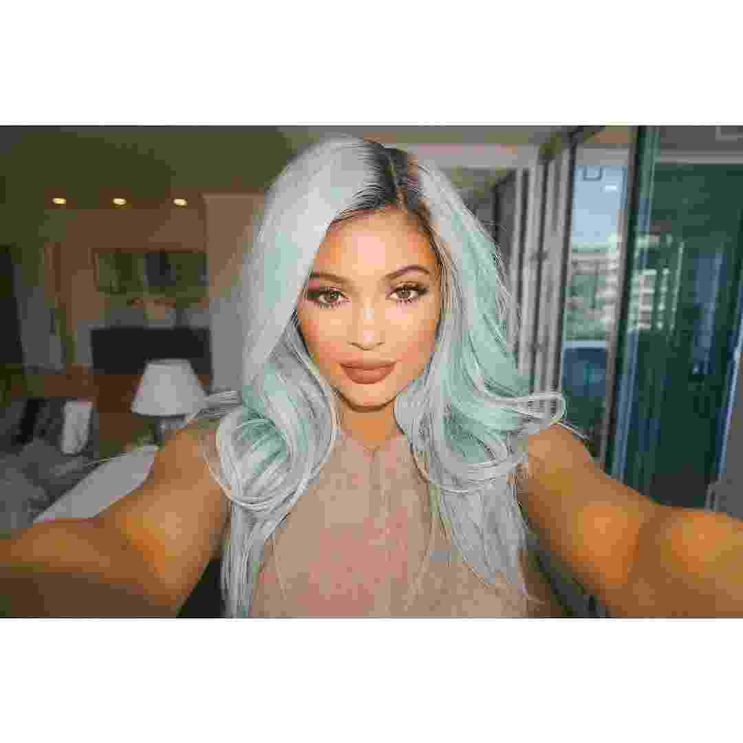 Cabelos de Kylie Jenner - Reprodução/Instagram