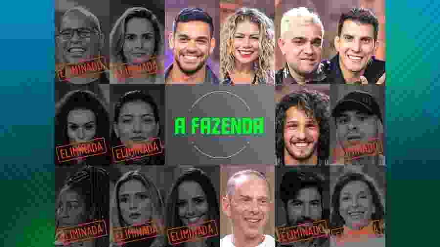 """Rafael Ilha é um dos participantes de """"A Fazenda 10"""" - Montagem"""