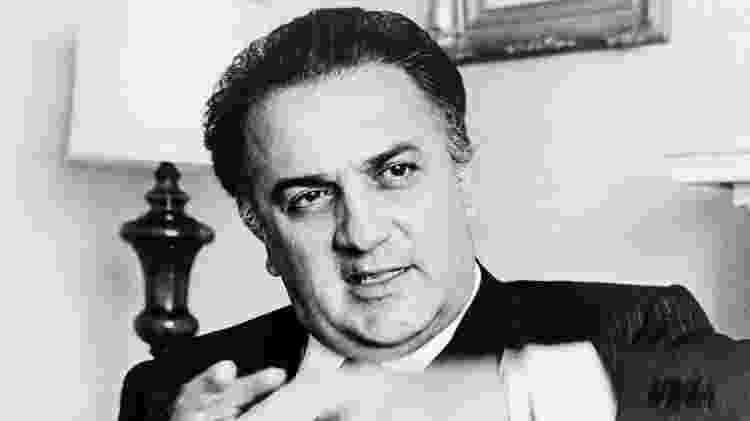 O cineasta italiano Federico Fellini - Reprodução - Reprodução