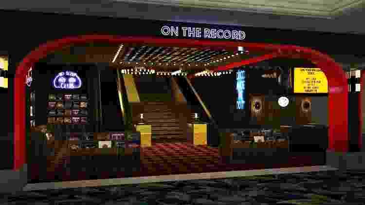 On the Record, Las Vegas - Divugação/Turismo de Las Vegas - Divugação/Turismo de Las Vegas