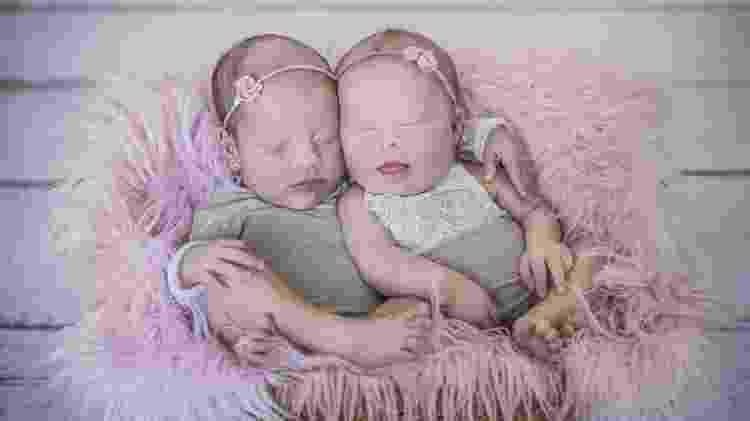 Livia e Luiza - Arquivo pessoal - Arquivo pessoal