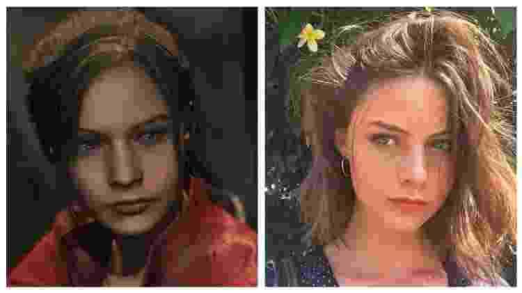 Claire Redfield - Jordan Mcewen - Reprodução - Reprodução