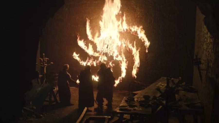 Lorde Ned Umber é morto pelos Caminhantes Brancos e encontrado pregado na parede - Reprodução