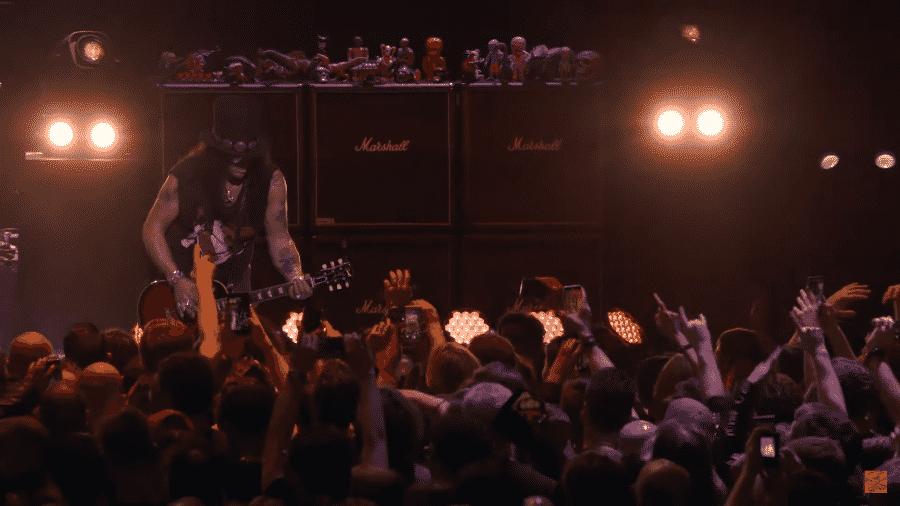 O guitarrista Slash - Reprodução
