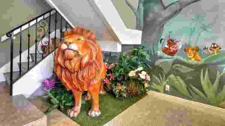 """Casa da Flórida com decoração de """"Rei Leão"""" - Divulgação/Airbnb - Divulgação/Airbnb"""