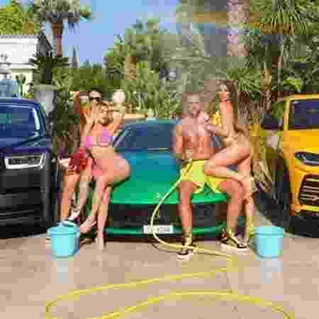 Philipp Plein com Ferrari, Rolls-Royce e Lamborghini - Reprodução