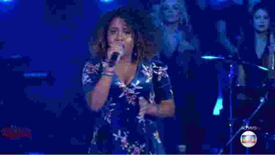 """Ana Ruth é aprovada pelo público no """"The Voice Brasil"""" - Reprodução/TV Globo"""