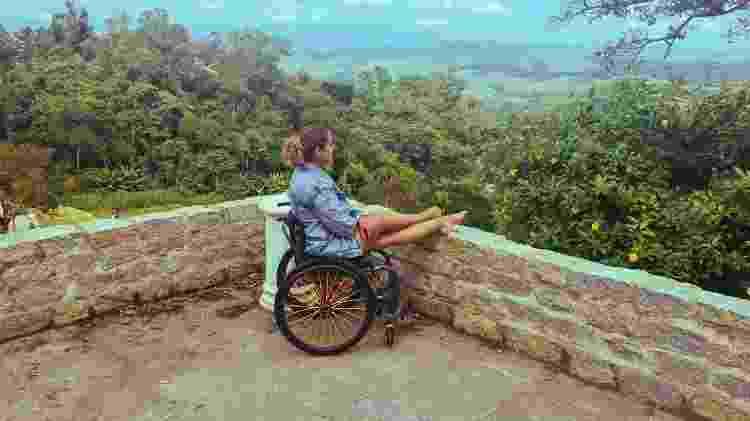 Suelen Almeida, do Viaje Com Acessibilidade - Arquivo pessoal - Arquivo pessoal