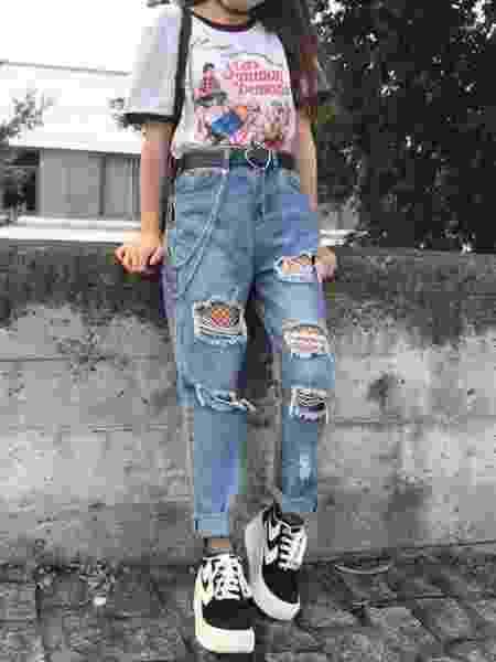 Looks inspirados nos anos 90 são tendência de moda atual - Reprodução/Instagram