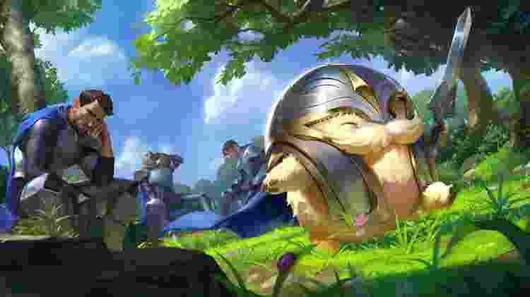 Legends of Runeterra Poro - Divulgação/Riot Games - Divulgação/Riot Games
