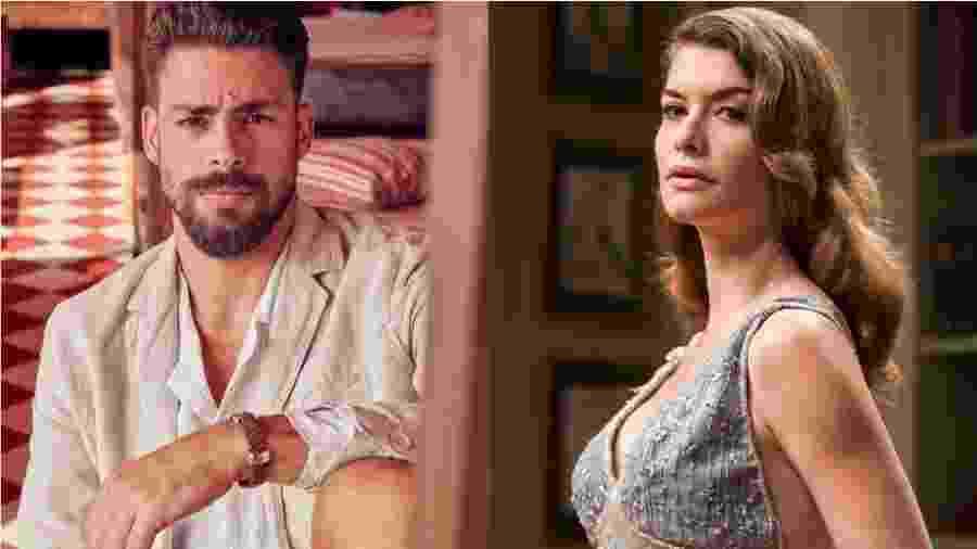 Cauã Reymond e Alinne Moraes namoraram entre 2002 e 2005 - Reprodução/Instagram e Globo/Victor Pollak