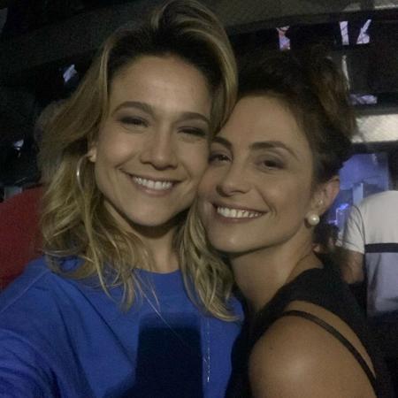 Apesar de crise, Fernanda Gentil afirmou que relação com Priscila Montandon já está em paz - Reprodução/Instagram