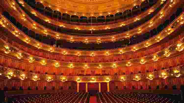 Visitas guiadas apresentam o interior do suntuoso Teatro Colón - Ente de Turismo de la Ciudad de Buenos Aires/Divulgação