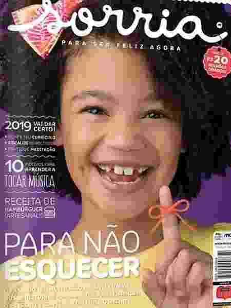 Revista Sorria - Divulgação - Divulgação