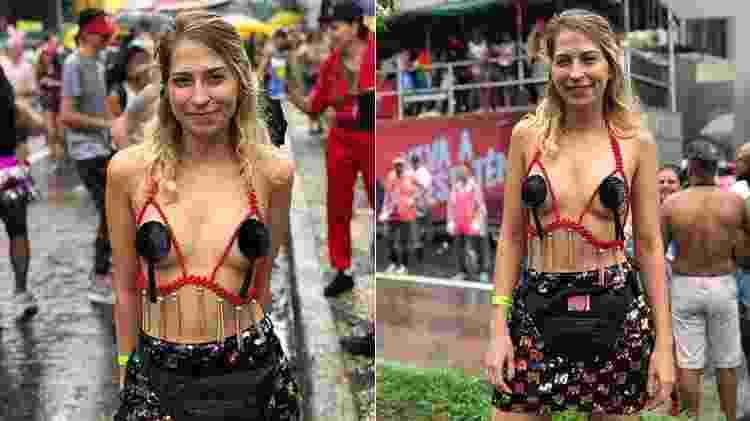 Repórter de Universa testa os pasties em bloco de pré-Carnaval - UOL - UOL